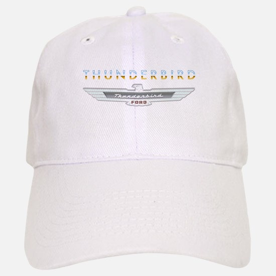 Ford Thunderbird Emblem Orange Chrome Baseball Baseball Cap