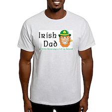 Irish Dad Ash Grey T-Shirt