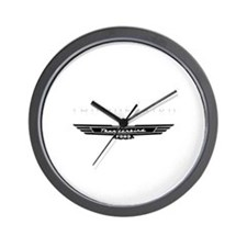 Ford Thunderbird Emblem Wall Clock