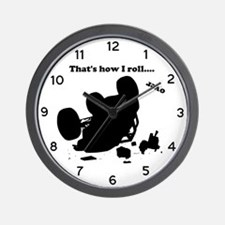Funny Upside down Wall Clock