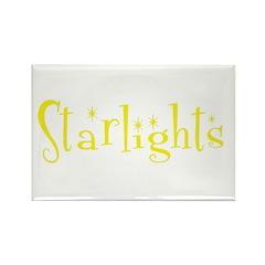 Starlights Rectangle Magnet