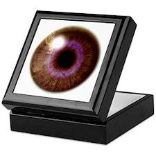Brown Eye Keepsake Box