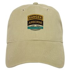 CIB with Ranger/Airborne Tab Baseball Cap