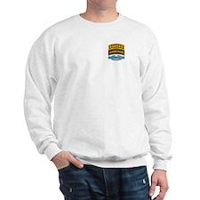CIB with Ranger/Airborne Tab Sweatshirt