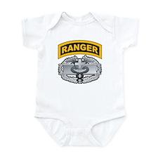 Combat Medic Badge with Range Infant Bodysuit