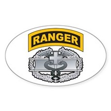 Combat Medic Badge with Range Oval Decal