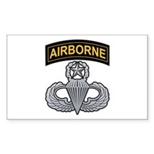 Master Airborne Wings with Ai Rectangle Decal