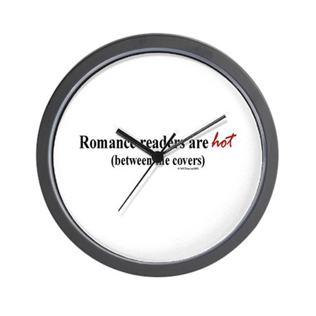 Romance readers are hot (betw Wall Clock