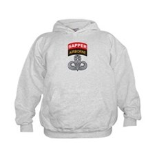 Master Airborne Wings with Sa Hoodie