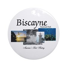 ABH Biscayne NP Ornament (Round)