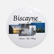 ABH Biscayne NP Round Ornament