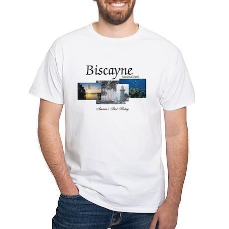 ABH Biscayne NP White T-Shirt