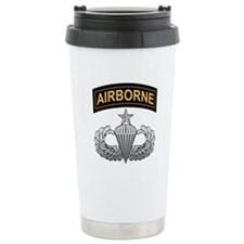 Senior Airborne Wings with Ai Travel Mug