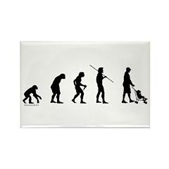 Dad Evolution Rectangle Magnet (10 pack)