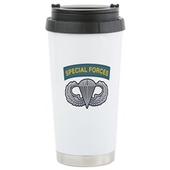 Basic Airborne Wings Special Travel Mug