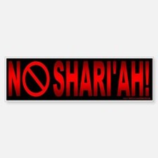 NO Shari'ah (sticker)