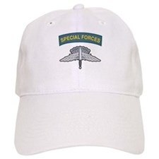 HALO Wings with Special Force Baseball Cap