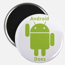 "Droid Does Google Android 2.25"" Magnet (10 pa"