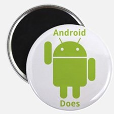 Droid Does Google Android Magnet