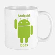 Droid Does Google Android Small Small Mug