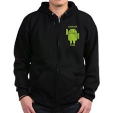 Droid Does Google Android Zip Hoodie