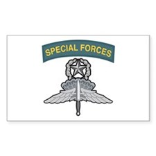 Master HALO Special Forces Ta Rectangle Decal