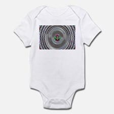 Pulsing Vortex Optical Illusi Infant Bodysuit