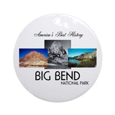 ABH Big Bend Round Ornament