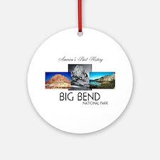 ABH Big Bend Round Ornament