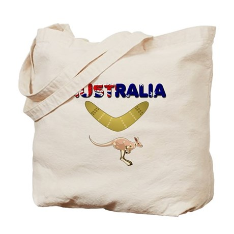 Australia Boomerang Tote Bag