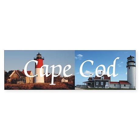 Cape Cod Americasbesthistory.com Sticker (Bumper)
