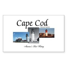 Cape Cod Americasbesthistory.c Decal