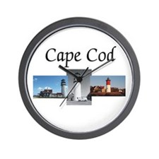 Cape Cod Americasbesthistory.com Wall Clock