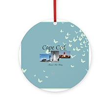 Cape Cod Americasbesthistory.com Round Ornament