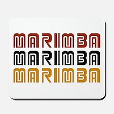 Tribal Marimba Mousepad