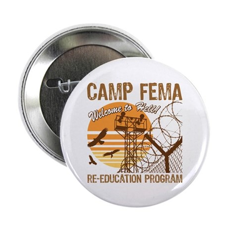 "Camp FEMA 2.25"" Button (10 pack)"