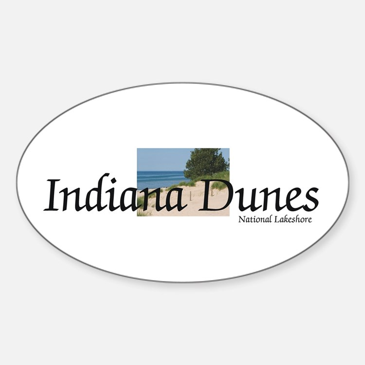 ABH Indiana Dunes Sticker (Oval)