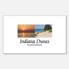 ABH Indiana Dunes Sticker (Rectangle)