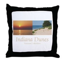 ABH Indiana Dunes Throw Pillow