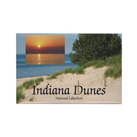 ABH Indiana Dunes Rectangle Magnet