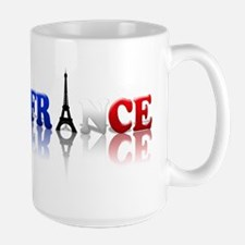 France Tricolore and Eiffel T Mug