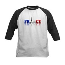 France Tricolore and Eiffel T Tee