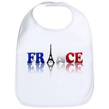 France Tricolore and Eiffel T Bib