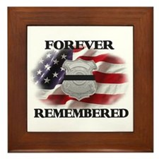 Forever Remembered Framed Tile