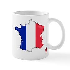 French Flag Map Mug