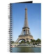Eiffel Tower Across the River Journal