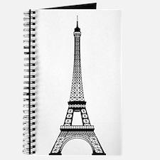 Eiffel Tower Outline Journal