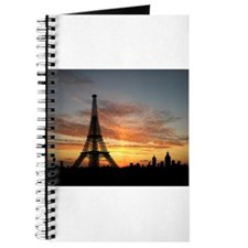 Eiffel Tower Silhouette Journal