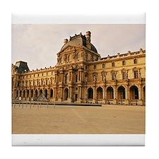 Louvre Museum Tile Coaster
