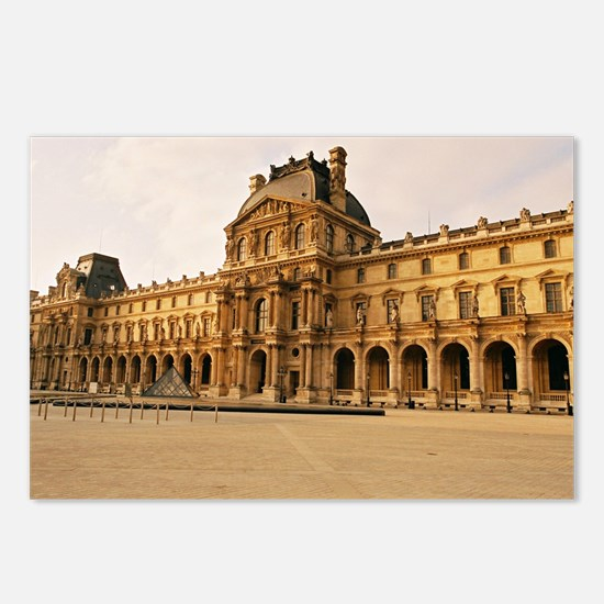 Louvre Museum Postcards (Package of 8)